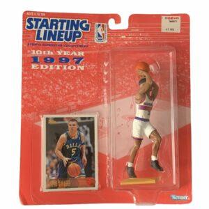 1997 Jason Kidd Starting Lineup Action Figure