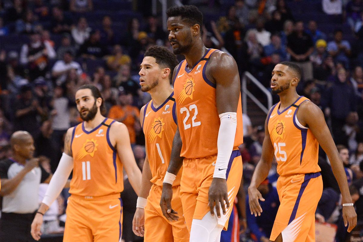 Sun's schedule comes out - Do they have a shot? Devin Booker Ricky Rubio DeAndre Ayton Playoffs Courtsideheat season restart season hoping to win games Suns PHX Phoenix