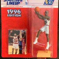 1996 Starting Lineup Clyde Drexler! Action figure collectibles Starting Lineup courtsideheat online business 1996 Houston Rockets