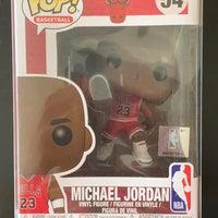 Funko Pop NBA Michael Jordan #54 Courtsideheat Funko Pop Mercari NBA