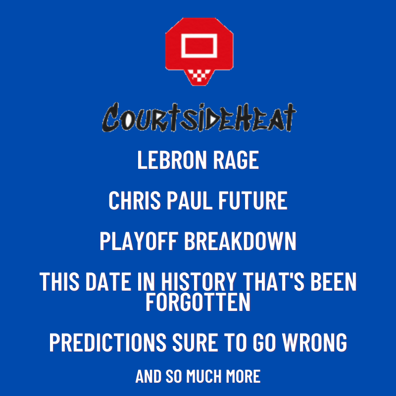 Dream Team Action, LeBron Rage, Playoff Boldness, and more! EP. #6