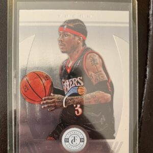 Panini Totally Certified Allen Iverson COURTSIDEHEAT
