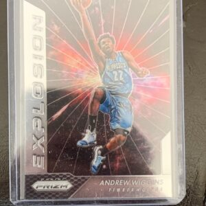 Prizm Explosion Andrew Wiggins Card COURTSIDEHEAT