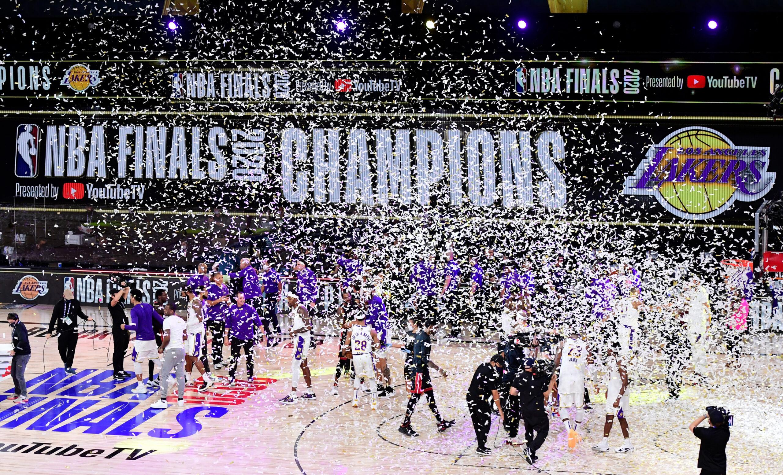 Full recap of the Laker's NBA Finals victory!