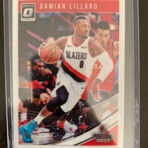Damian Lillard Donruss Optic Card