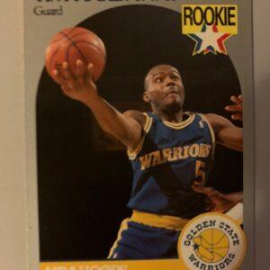 Rookie Tim Hardaway Card