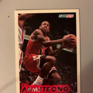 Fleer '93-94 B.J. Armstrong Card