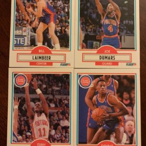 A lot of NBA Pistons Bad Boys