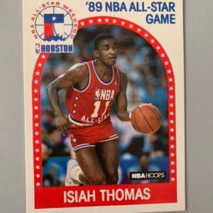 '89 NBA ALL-STAR GAME Isiah Thomas Card