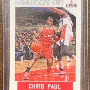 Chris Paul NBA Hoops Card