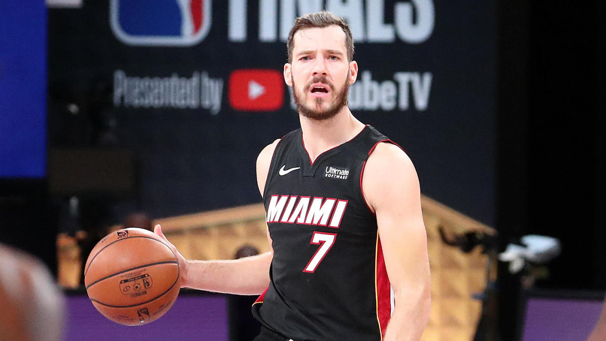 Goran Dragic is re-signing with the Heat!