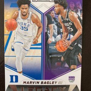 Marvin Bagley Panini Card