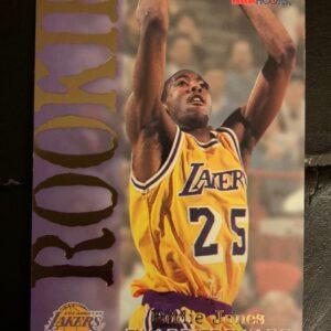 Rookie Eddie Jones Card
