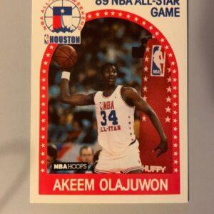 NBA 1989 Akeem Olajuwon Card