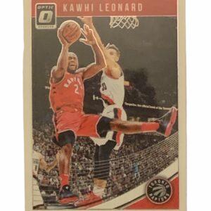 Kawhi Leonard Optic Card