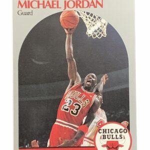 1990 NBA Hoops Michael Jordan Card