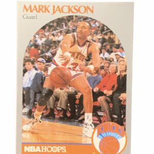 1990 Mark Jackson Card Feat. Menendez Brothers In Background