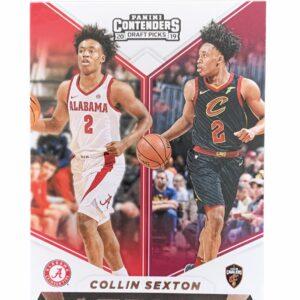 Panini Contenders Collin Sexton Card