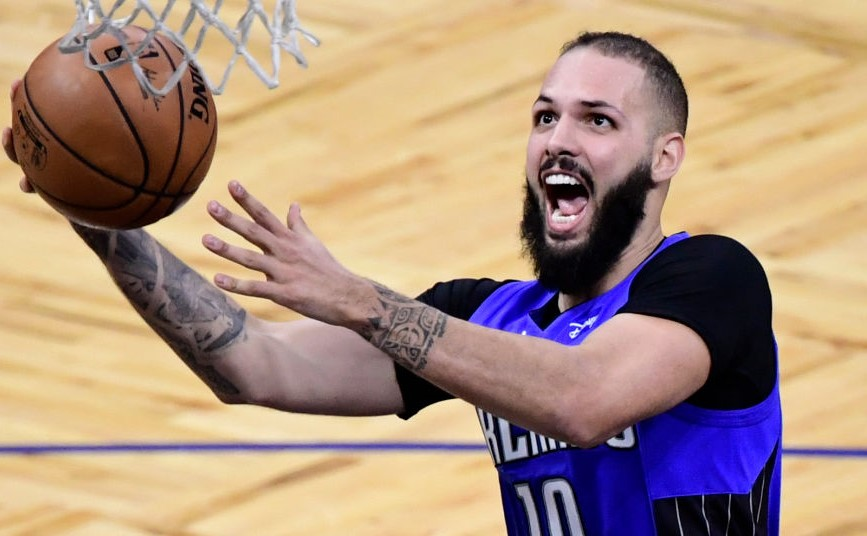 Evan Fournier is being STOPPED from debuting with the Celtics!