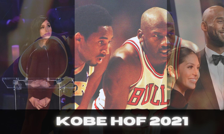 Kobe Bryant enshrined into the HOF - short video