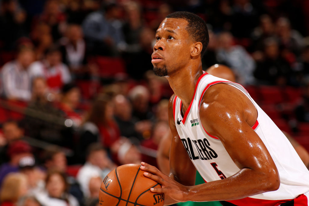 Rodney Hood done with the season due to injury!