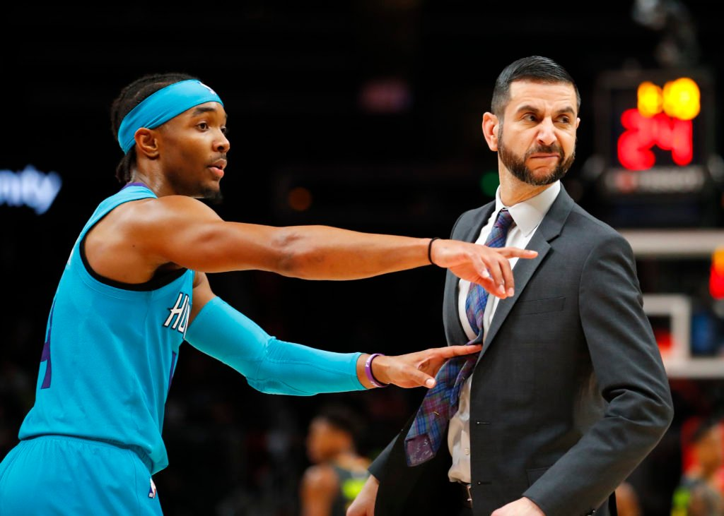 The Hornets are picking up James Borrego's option on contract!