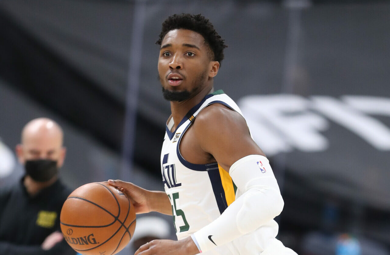 Donovan Mitchell out for the remainder of the season due to an ankle injury!