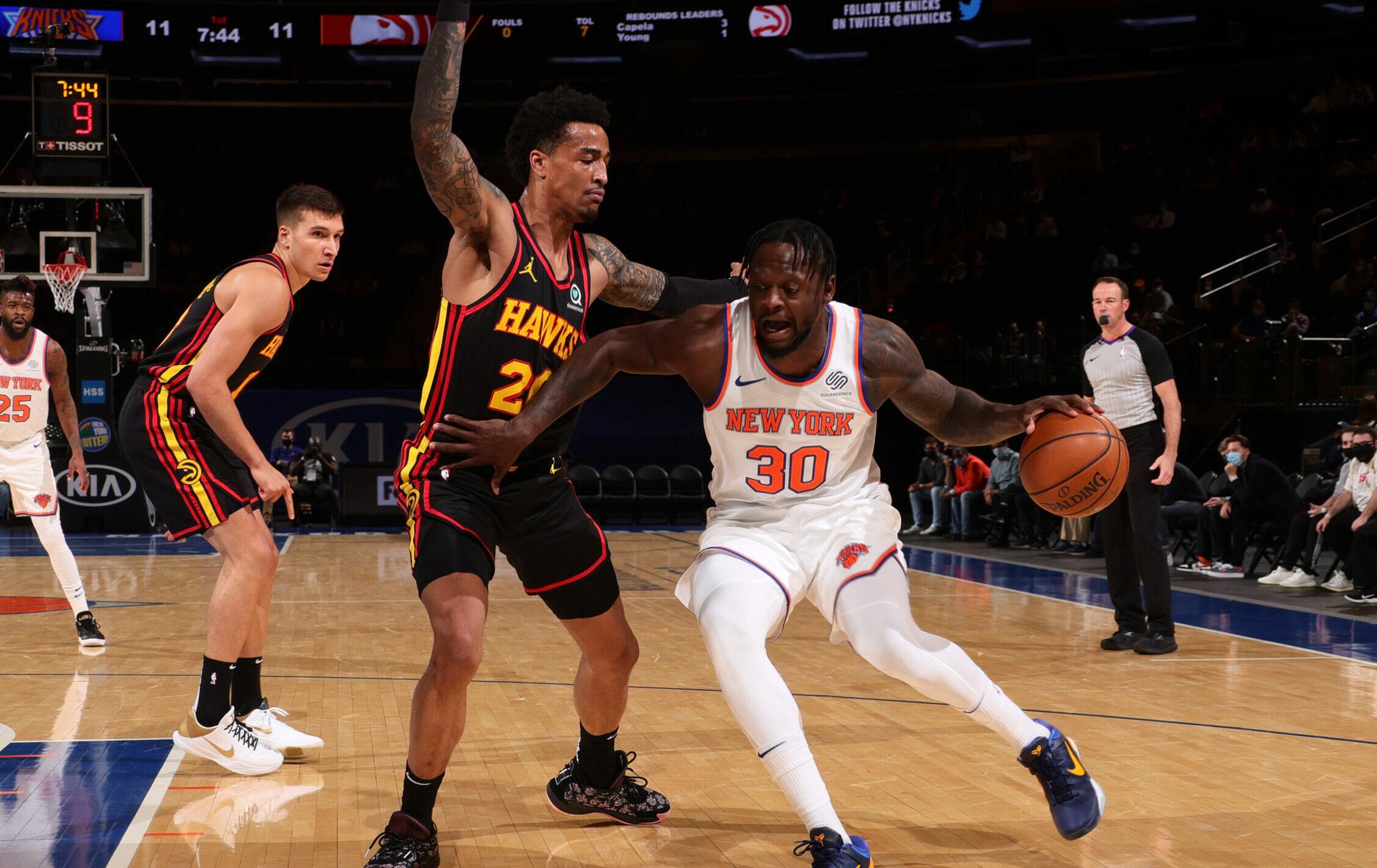 Knicks-Hawks finalized for NBA Playoffs!