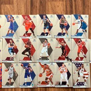 NBA Mosaic 19 Card Lot
