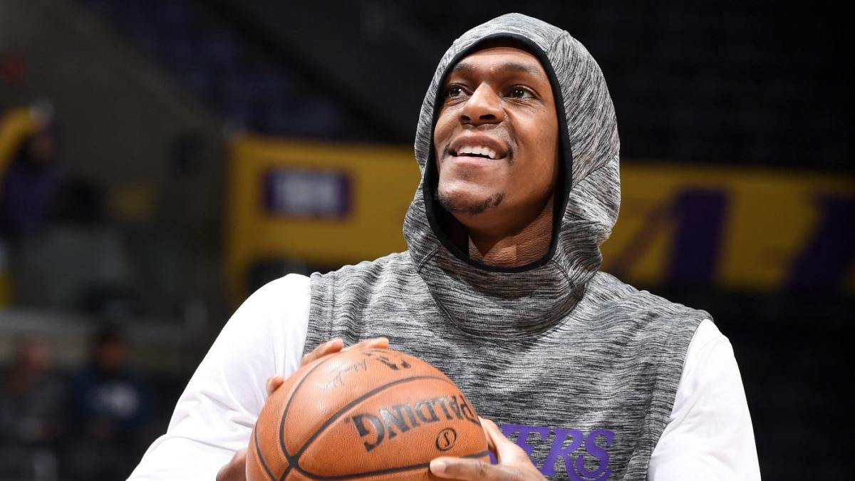Rajon Rondo reuniting with the Lakers could be happening!