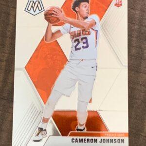 Rookie Cam Johnson Card